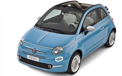 Motorcar Lagoon Rent a Car - Fiat 500CC (cabrio)